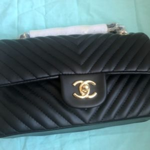 Chanel Double Flap Medium Bag New